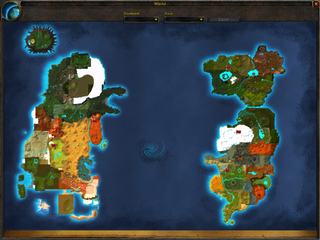 Map of the world... of Warcraft?