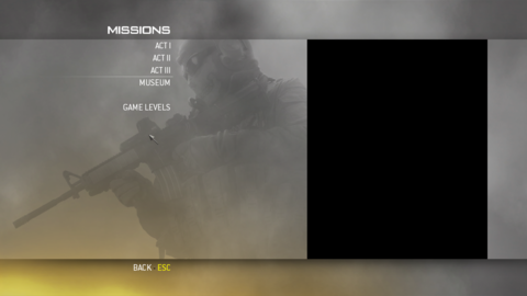 CODMW2-Debug-GameLevelsMissionSelect.png