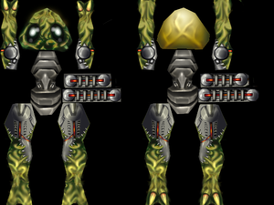 The team should've known that something wasn't right with Daikatana when they were told to make a skin and model for a cybernetic frog.
