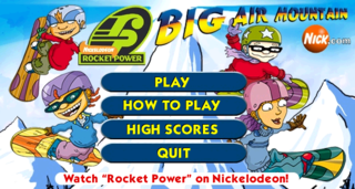 Rocket Power Big Air Mountain The Cutting Room Floor