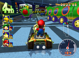 Mario Kart Wii The Cutting Room Floor