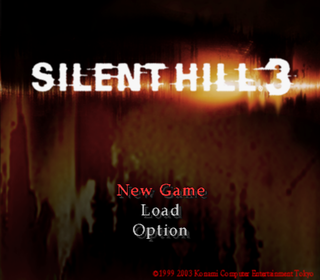 Silent Hill 3 Playstation 2 The Cutting Room Floor