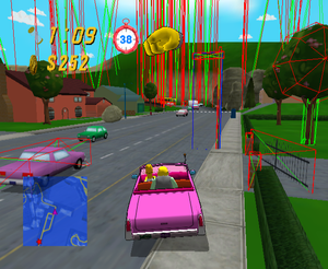 The Simpsons: Road Rage (GameCube, PlayStation 2, Xbox ... on simpsons characters, simpsons itchy and scratchy land, simpsons drugs, simpsons game xbox 360, simpsons police, simpsons canyonero, simpsons bad cops, simpsons driving, simpsons boxing, simpsons violence, simpsons car crash, simpsons sonic, simpsons snake, simpsons detective, simpsons doughnut, simpsons movie, simpsons map, simpsons dragon ball z, simpsons pacman, simpsons house floor plan,