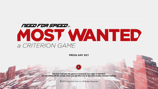 Need For Speed Most Wanted 2012 The Cutting Room Floor