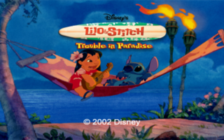 lilo and stich trouble in paradise