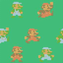 New Super Mario Bros./Unused Tilesets And Backgrounds ...