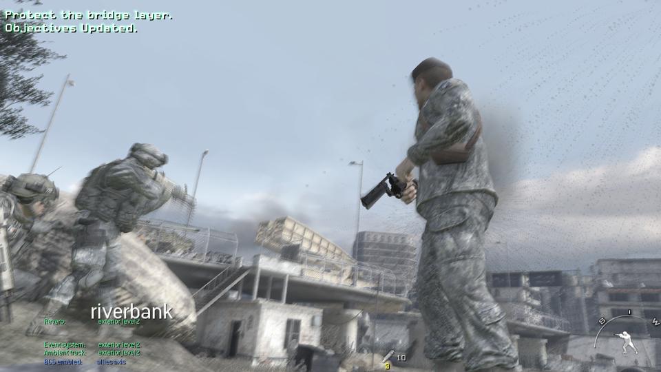 Call of Duty: Modern Warfare 2 (Windows)/Debug Material