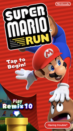 Super Mario Run - The Cutting Room Floor
