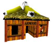 ARMOURY, ARMORY? What's the difference?