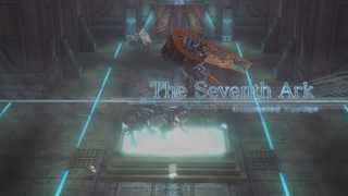 Introductory screen of the 7th Ark