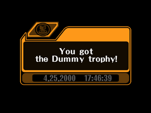 i has a trophy coz i is a dumy lol