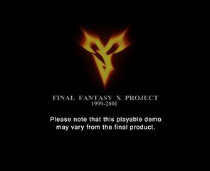 Proto:Final Fantasy X - The Cutting Room Floor