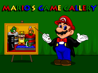 Mario's Game Gallery (Mac OS Classic) - Title MGG.png