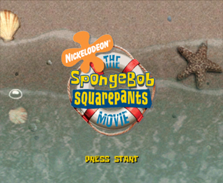 The SpongeBob SquarePants Movie (GameCube, PlayStation 2
