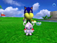 Sonic Adventure 2 (Dreamcast)/Chao World - The Cutting Room