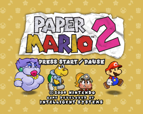 Proto:Paper Mario: The Thousand-Year Door - The Cutting Room Floor