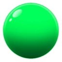 Green Cartoon Bubble