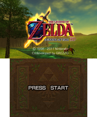 The Legend of Zelda: Ocarina of Time 3D - The Cutting Room Floor