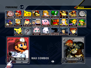 Super Smash Bros  Melee/Master Debug Menu - The Cutting Room