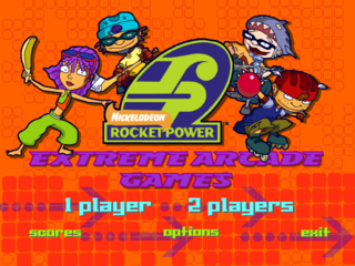 rocket power extreme arcade games the cutting room floor