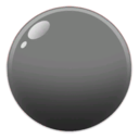 Grey Cartoon Bubble