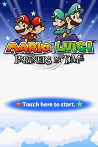 Proto Mario Luigi Partners In Time The Cutting Room Floor