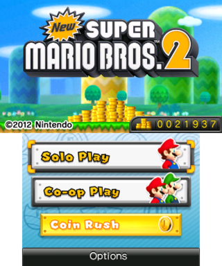 New Super Mario Bros.</p> <p>&nbsp;</p> <p>New Super Mario Bros. Wii 2: The Next Levels >>> <a href=