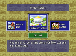 Pokémon Stadium (International) - The Cutting Room Floor