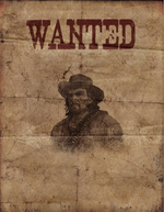 Rdr unused bandit on horse wanted poster.png