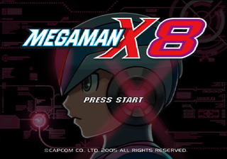 Megaman x8 ps2 europe title.png