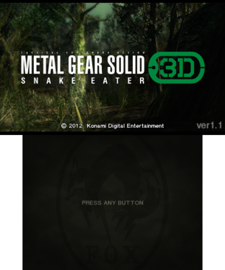 Metal Gear Solid: Snake Eater 3D - The Cutting Room Floor