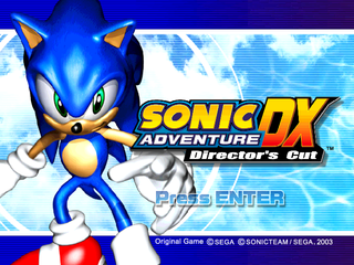 Sonic Adventure DX (PC, 2004)-title.png