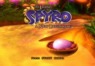 legend of spyro gamecube