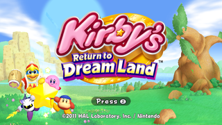 Dreamland Kirby