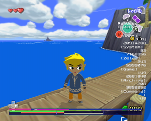 The Legend of Zelda: The Wind Waker/Debug Content - The