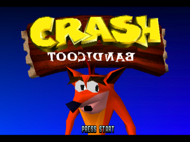 Look at Crash. Even he can't read that. Can he even read?