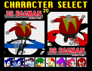Comparison shot of the two Eggmans