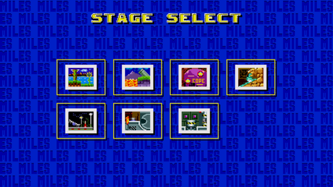 The alternate level select