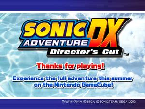 Sonic Adventure Dx Ps3