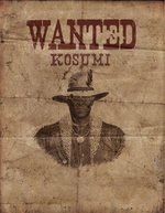 Rdr unused Kosumi wanted poster.png