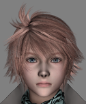 Most visible difference between early and final version is the difference in the colour of Hope's hair and neck scarf.