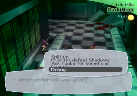 Persona 3 FES - The Cutting Room Floor