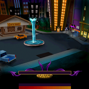 The HubWorld, as it appears in the European release.