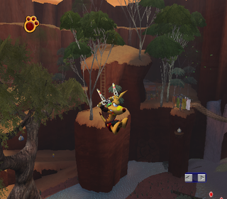 Ty the Tasmanian Tiger 3 Night of the Quinkan GameCube Free Movement Mode.png