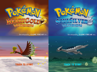 Pokémon HeartGold/SoulSilver Official Trailer 320px-Pokémon_HeartGold_and_SoulSilver-title
