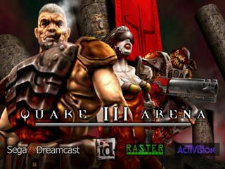 Quake III Arena (Dreamcast) - The Cutting Room Floor