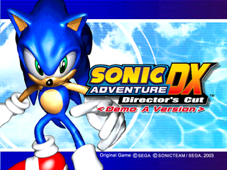 Sonic Adventure DX (PC, 2004)-title (Trial).png