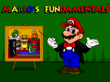 Mario's Game Gallery (Mac OS Classic) - Title FUN.png