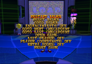 Crash Bandicoot Wrath of Cortex Debug Main.png