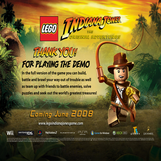 LEGO Indiana Jones: The Original Adventures (Windows) - The Cutting ...
